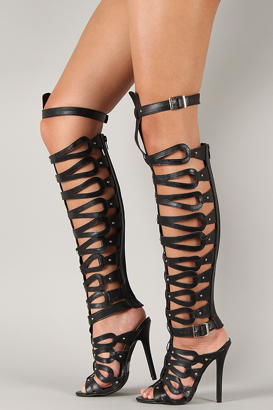 knee high gladiator sandals march 2015
