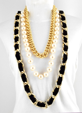 knock-out-black-multi-strand-gold-necklace